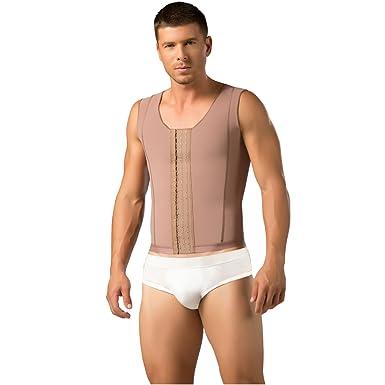 73cde84aa DPrada 11017 Shapewear for Men Girdle Colombian Body Shaper Fajas para  Hombres - Cocoa-Optic