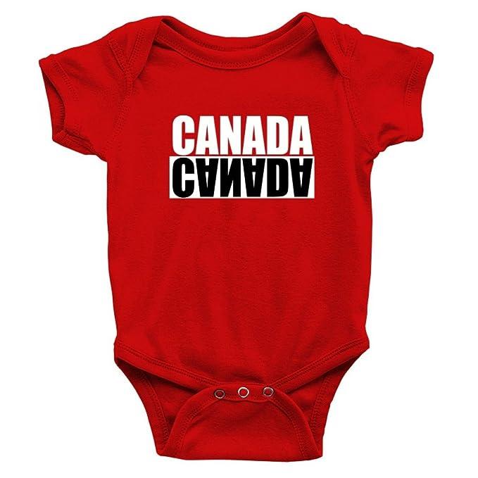 Amazon Com Teeburon Canada Negative Baby Bodysuit Clothing