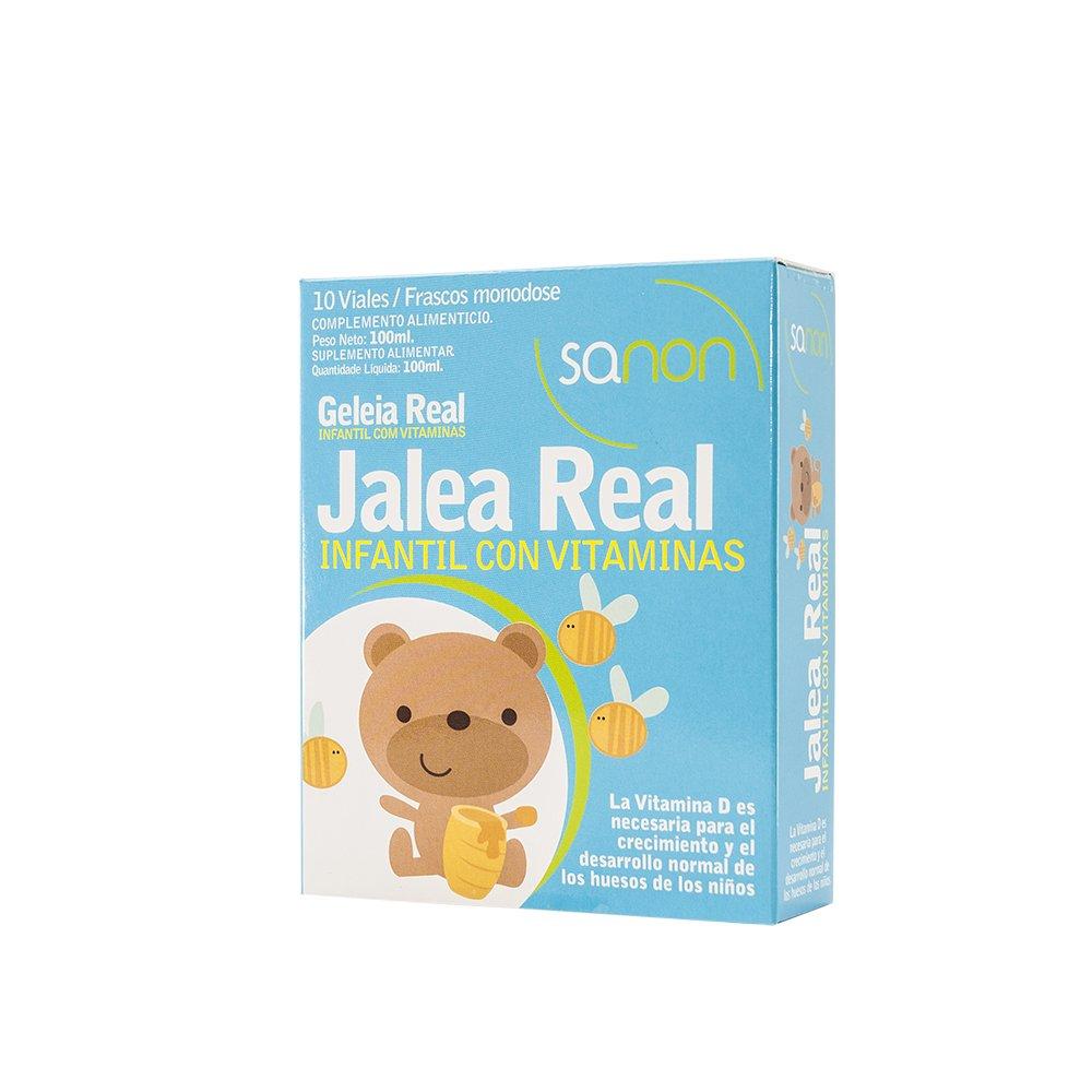 SANON - SANON Jalea Real Infantil con Vitaminas 10 viales de 10 ml ...