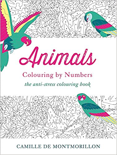 Animals Colouring By Numbers Colouring Books Amazon Co Uk