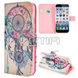 Dream Catcher PU Leather Flip Credit Card Wallet Stand Case Cover For iPhone 6 6S - Pink