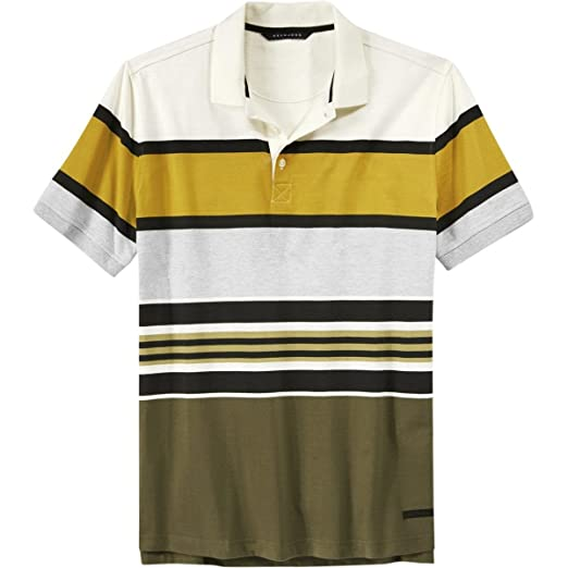 2065d747ce1 Amazon.com  Sean John Men s Tall Short Sleeve Core Stripe Polo Shirt   Clothing
