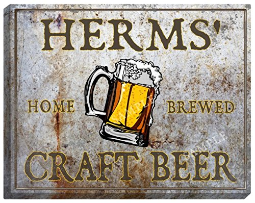 herms-craft-beer-stretched-canvas-sign-24-x-30