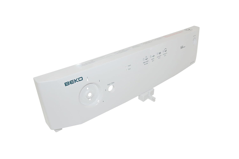 Beko 1746011798 Dishwasher Panel Printed