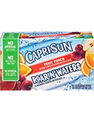 Capri Sun Roarin' Flavored Water Beverage, Fruit Punch, 60 Ounce