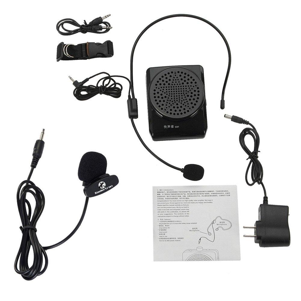 Amplificador con micrófono portátil mini altavoces para los profesores / guias / maestros / altavoces máxmo 20W: Amazon.es: Electrónica