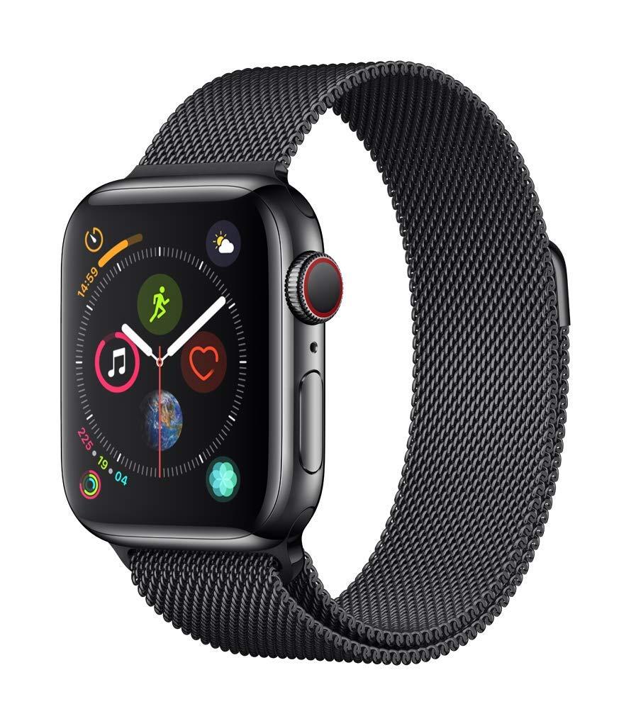 入園入学祝い Apple Watch Series 4(GPS + 44mm Cellularモデル)- Seashell 40mmスペースブラックステンレススチールケースとスペースブラックミラネーゼループ B07KXQNXHN Seashell Watch Sport 44mm 44mm|Seashell Sport|Silver Aluminium, Mt.石井スポーツ:f059c162 --- arianechie.dominiotemporario.com