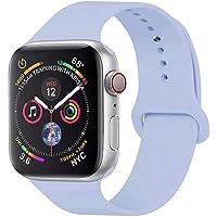 GIPENG Cinturino per Apple Watch 38MM 40MM 42MM 44MM, Morbido Maglia Silicone Cinturini per iWatch Apple Sport Edizione Serie 4/3 / 2/1,Taglia S/M, M/L