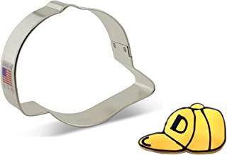 """product image for Ann Clark Cookie Cutters Baseball Hat Cookie Cutter, 3.75"""""""