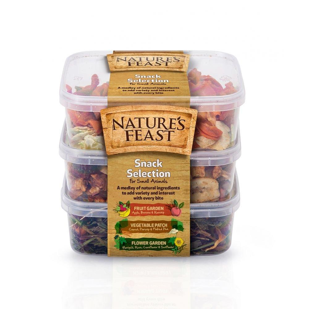 Natures Feast - Kit de aperitivos para animales pequeños UTBT1557_1