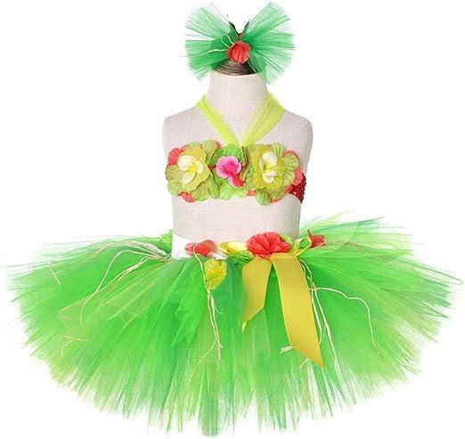 JJAIR Las niñas de la Falda de Hierba Hawaiana, Vestidor Ballet ...
