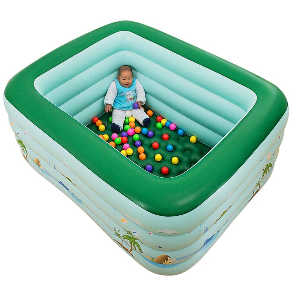 Super Familie Baby Swimming Pool/Isolierung Baby aufblasbaren Kinderplanschbecken/Große Ball-Pool/Adult Wanne-D