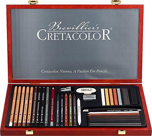 Cretacolor Ultimo Wood Box Set by Cretacolor