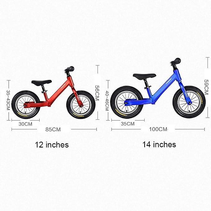 ElevenY Bicicleta de Equilibrio con Marco anodizado de competición ...