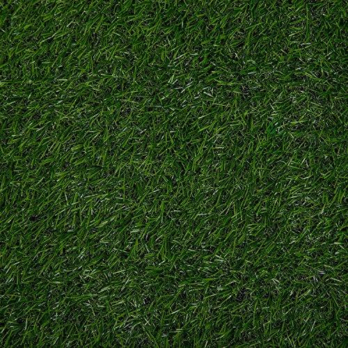 (Fasmov Green Artificial Grass Rug Grass Carpert Rug, 3.2' x 6.5')