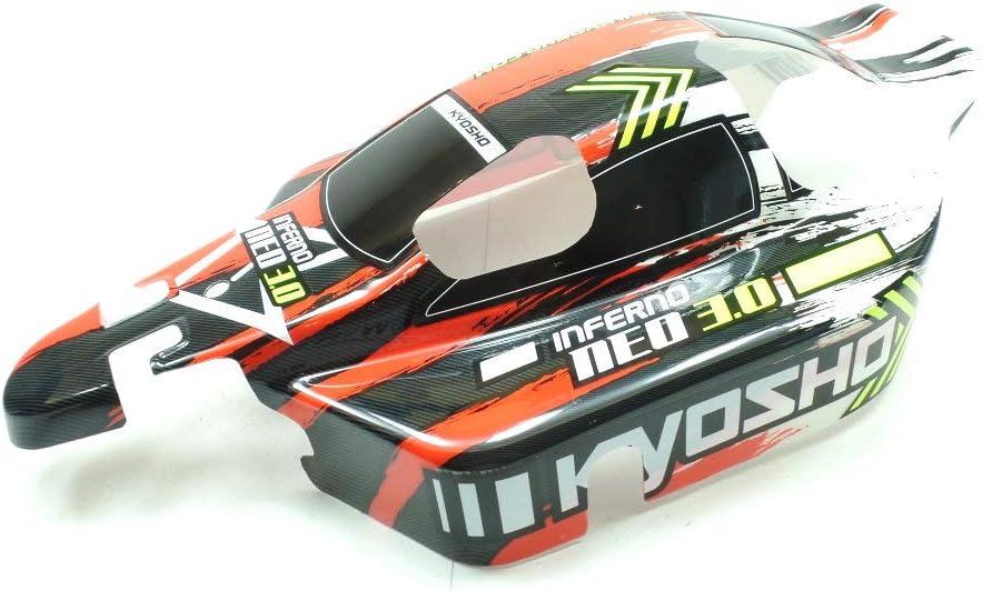 Kyosho 1:8 Inferno Neo 3.0 Buggy Body Red Laminated Painted KI3®