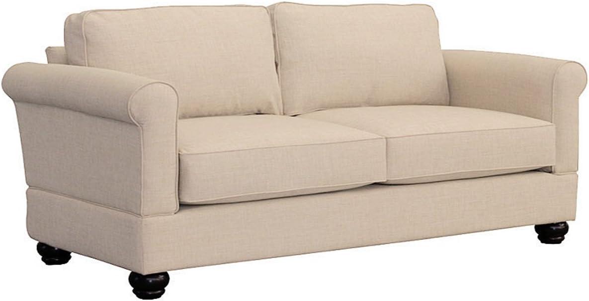 Furniture For Living Gregory Loveseat, Alabaster