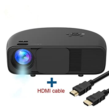 Full HD LED Proyector, huiheng LCD proyector multimedia proyector Soporte PC Portátil Smartphone Xbox portátil para Home Cinema Theater ...