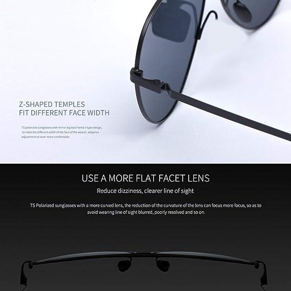 Gafas de sol polarizadas Xiaomi Mijia TS Protección UV400 Gafas Sun Mirror Gafas para viajes al aire libre Versión Global Unisex - Gris: Amazon.es: Ropa y ...