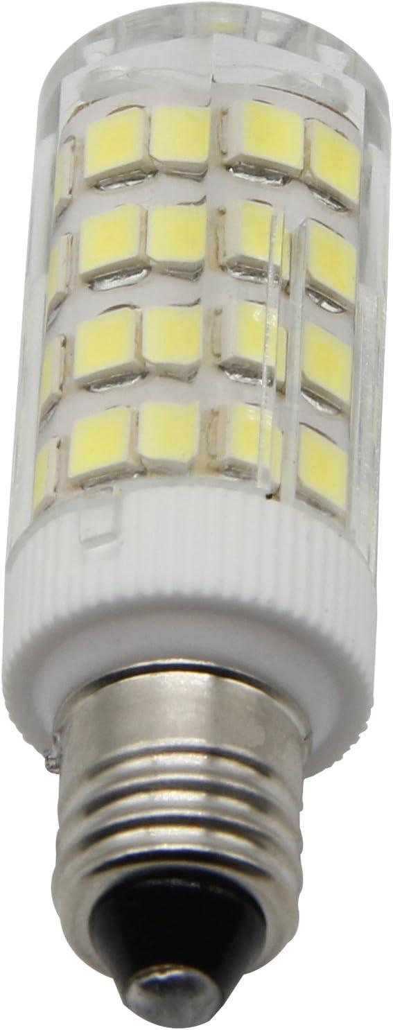 5-Pack E11 Led Bulbs Daylight 6000K JD T3//T4 360 Degree Beam Angle 4W 40W-50W Equivalent 350 LM Dimmable,E11 Mini Candelabra Base
