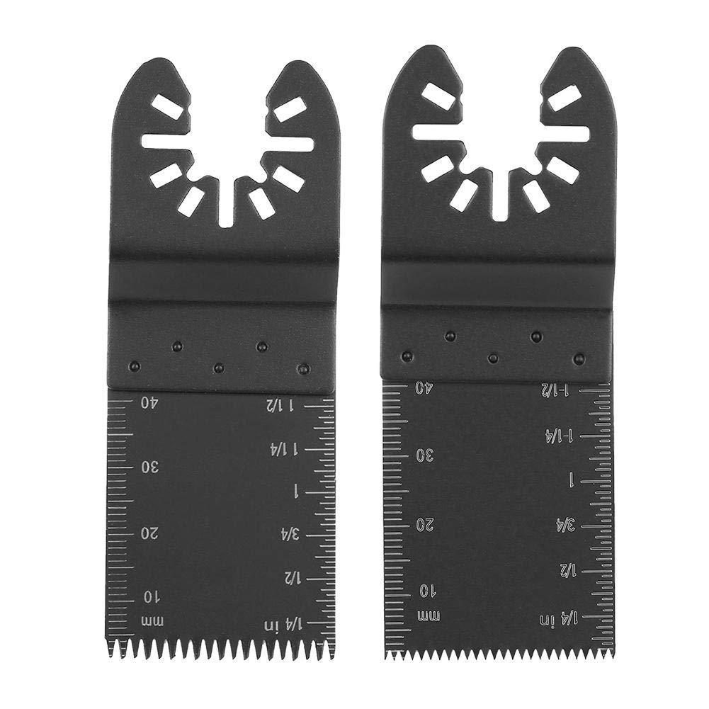 Hojas de sierra 10 Unids 34mm Herramienta Multiherramienta Oscilante Oscilante Recta Herramienta Oscilante DIY para Bosch Dremel Fein