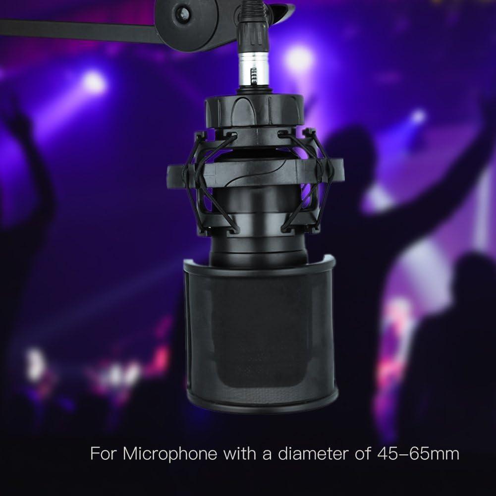 Filtro Pop Microfono Migliorato 2020 Filtro Pop a Rete Metallica E Strato in Schiuma Microfono Portatile Filtro Pop Filtro Copertura Parabrezza Supporto per Schermo per Video di YouTube