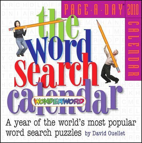 2010 Daily Desk (Wonderword Word Search Page-A-Day 2010 Daily Boxed Calendar)