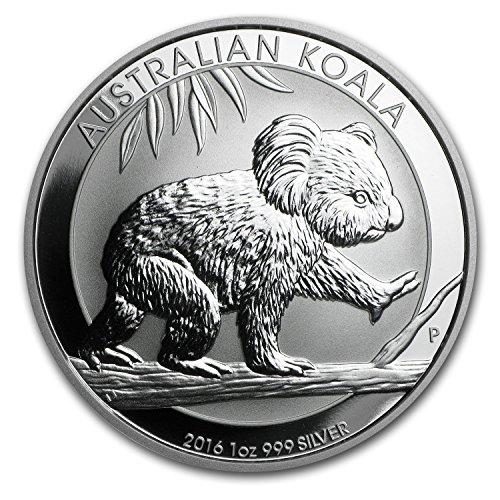 2016 AU Australia 1 oz Silver Koala BU 1 OZ Brilliant ()