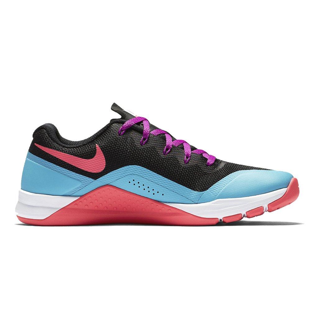 NIKE Women's Metcon Repper DSX Cross Trainer B01LPPAWFG 6 M US|Black/Racer Pink/Chlorine Blue
