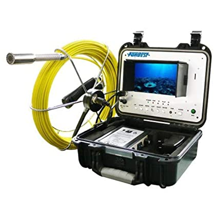 7 LCD Monitor 1 Camera Head 65 Cable Forbest Products FB-PIC3188DN-65 Inspection Camera Built-in DVR /& Mic