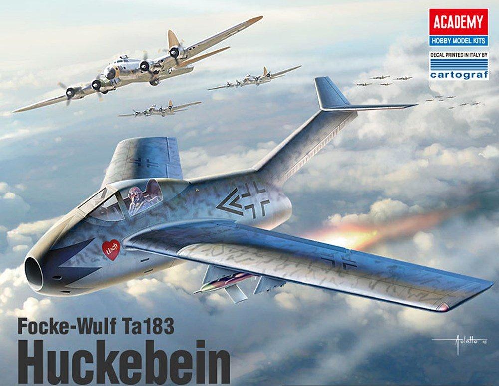 Amazon.com: Academy Focke-Wulf ta183 huckebein Kits de ...