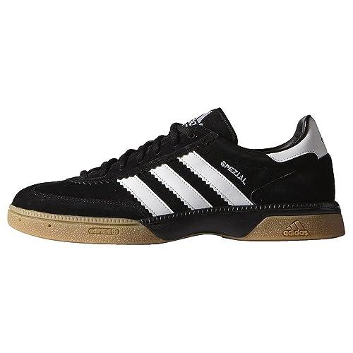 adidas HB Spezial Handball Shoes, Men, Cblack/Vivmin/Cblack, 8