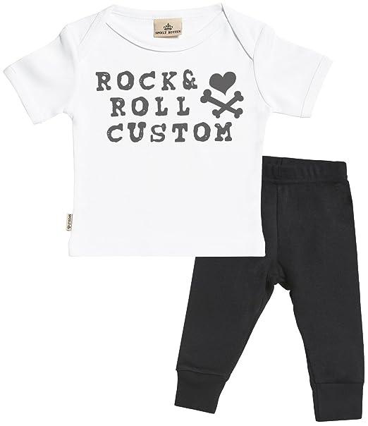 Regalos Bebe Personalizados Amazon.Personalizados Bebe Rock And Roll Custom Regalo Para Bebe
