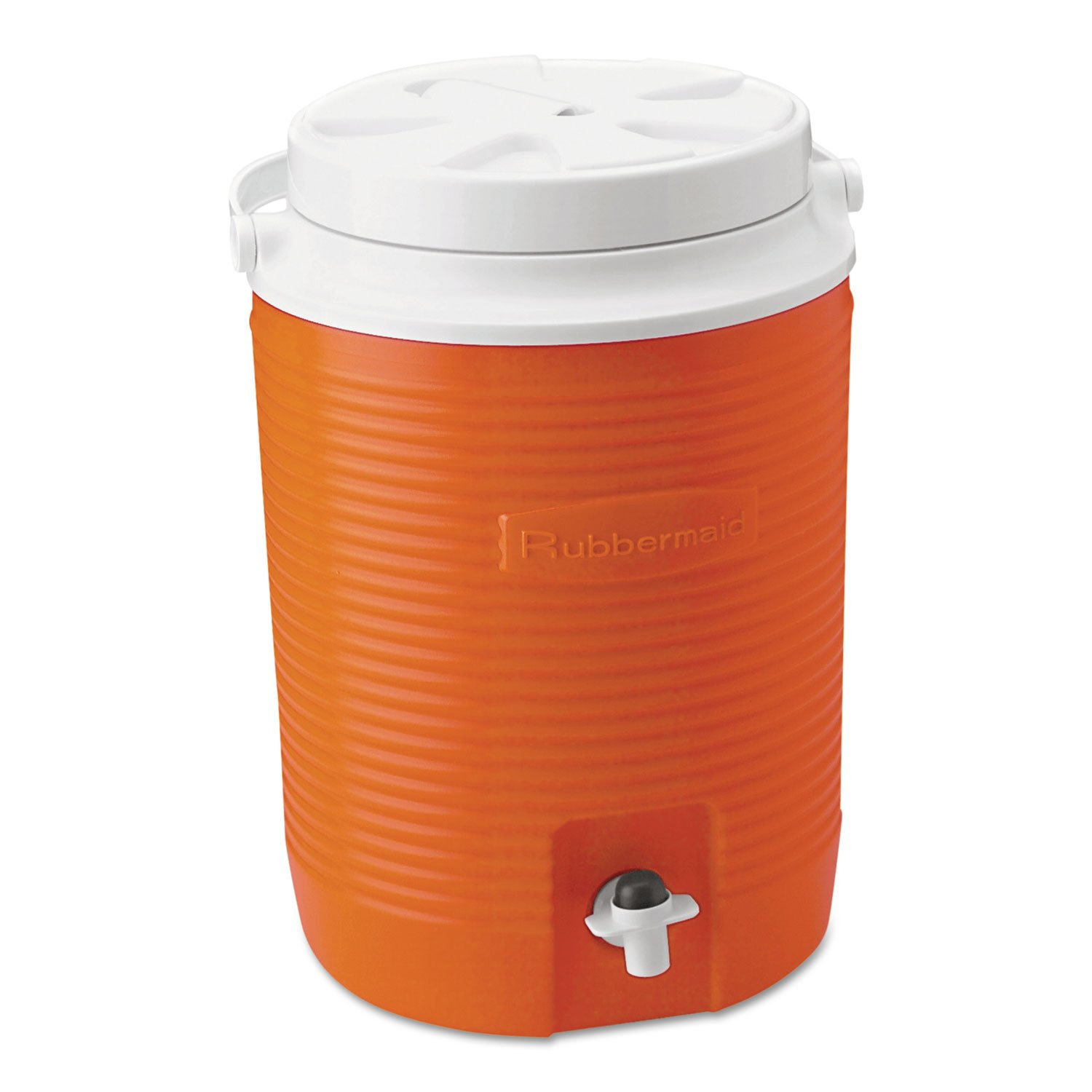 Durable Rubbermaid FG15300411 2 Gallon Orange Victory Thermal Jug Water Coolers by The Rubbermaid   B01ER3LXFQ