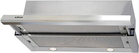 CAMP EDESA URBAN-TELE61XA 60CM INOX: Amazon.es: Grandes electrodomésticos