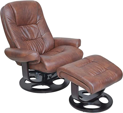 BarcaLounger Jacque II Leather Recliner Ottoman