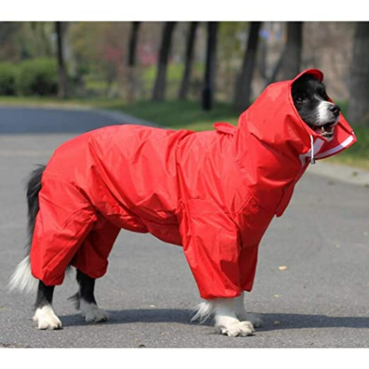YUMUYMEY Impermeable para Perros Kappa/Ropa de Lluvia con ...