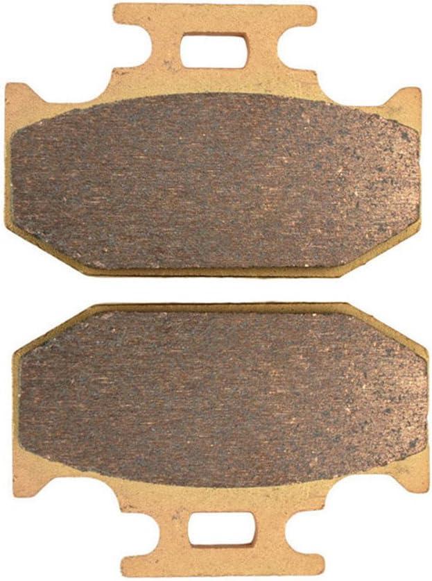 AHL Motocyclette plaquettes de frein Arri/ère pour Suzuki DR 350 SL//SM//SN//SP 1990-1993 Cuivre fritt/é