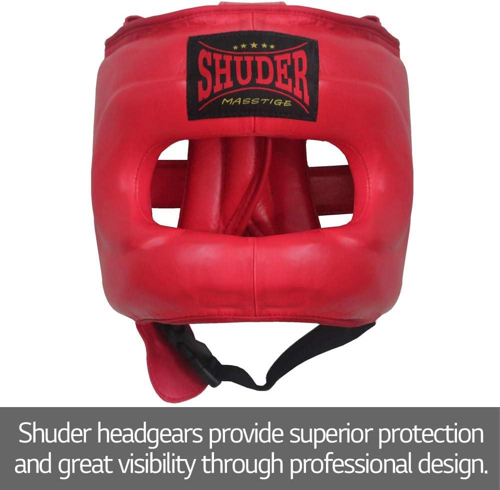 and Muay-Thai Sparring and Training Shuder Full-face Headgear MMA