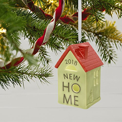 Hallmark Keepsake 2018 New Home Homeowner Gift Year Dated Ceramic Christmas Ornament
