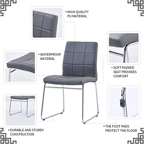Modern Dining Room Chairs Set of 2