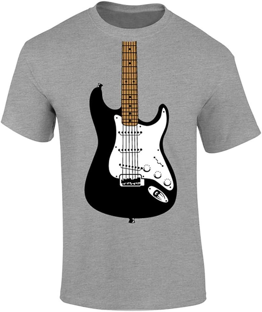 para Hombre para Guitarra eléctrica Image T-Camiseta de Manga ...