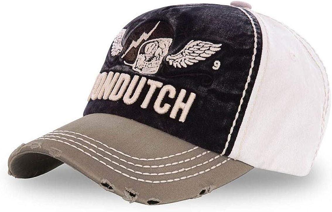 Vondutch Von Dutch Gorra de béisbol Xavier, Color Caqui y Negro ...