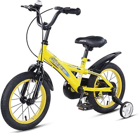 Bicicletas Para Niños 14 Pulgadas Adecuado para Niños De 3-5 A 6 ...