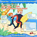 Hevto Wetsuits Kids and Youth Vigor 3mm Neoprene
