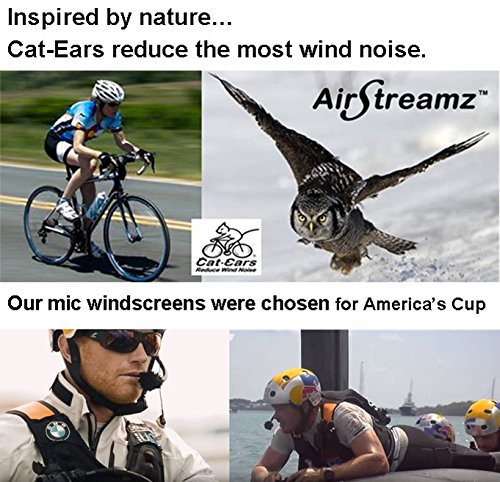 NEW AirStreamz Pro Cycling Wind Noise Reducer