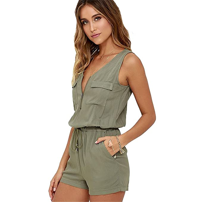Vestidos color verde soldado