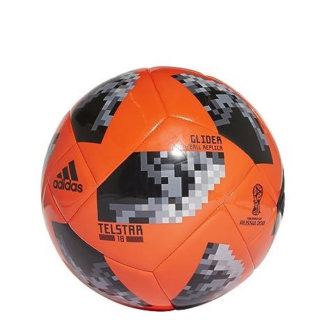 59300f8c8 Amazon.com : adidas Russia Telstar 2018 World Cup Glider Soccer Ball ...