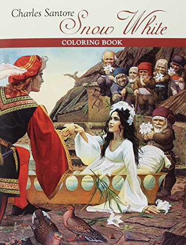 Charles Santore: Snow White Coloring (Snow White Coloring Book)