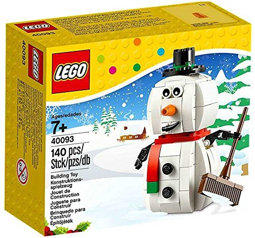 Making Lego Halloween Costume (LEGO, Snowman (40093))